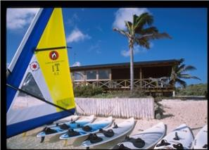 Bonaire Caribbean -  The Windsurfingplace at Sorobon -Lac Bay  - lodging at Coco Palm Garden